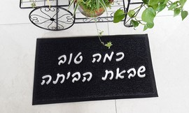 שטיח כניסה לבית במגוון דגמים