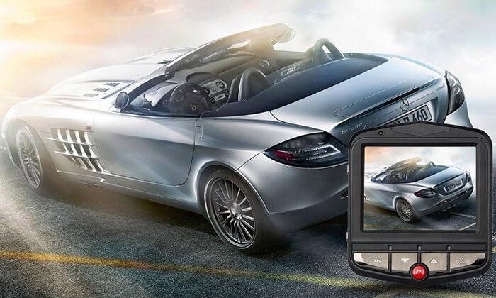6  מצלמת דרך לרכב ברזולוציית Full HD