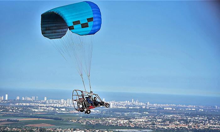3 טיסה בבקאי מעל שמי הארץ עם buckeye fun
