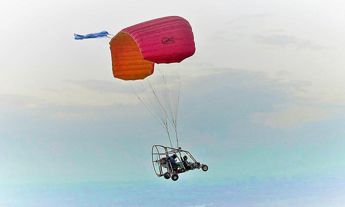 2 טיסה בבקאי מעל שמי הארץ עם buckeye fun