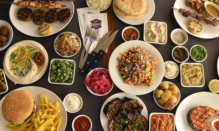 14 שובר הנחה למסעדת 206, צהלה תל אביב