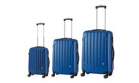 סט 3 מזוודות קשיחות POLO SWISS