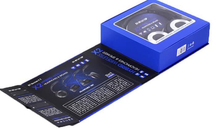 5 אוזניות Bluetooth אלחוטיות עם רמקולים מובנים