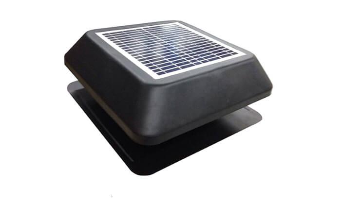 5 מפוח סולארי לגג DRS Solar לקירור הבית