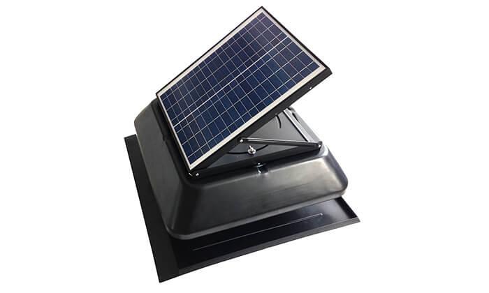 2 מפוח סולארי לגג DRS Solar לקירור הבית
