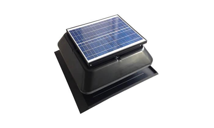 6 מפוח סולארי לגג DRS Solar לקירור הבית