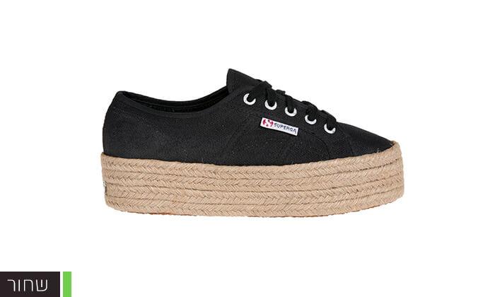5 נעלי סניקרס עם פלטפורמה לנשים SUPERGA
