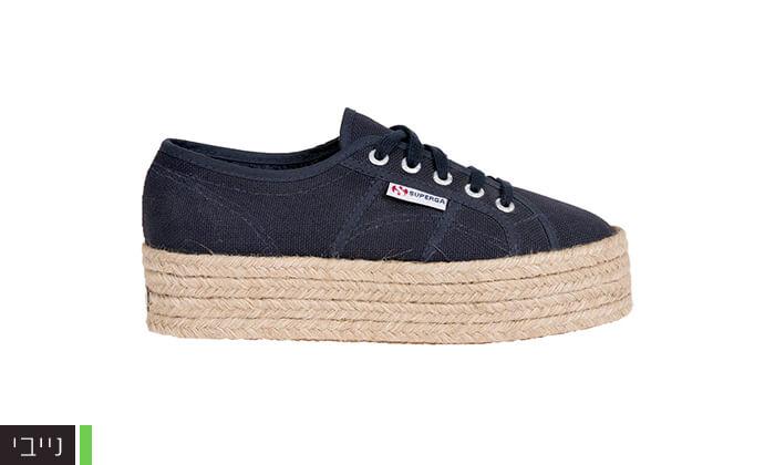 6 נעלי סניקרס עם פלטפורמה לנשים SUPERGA