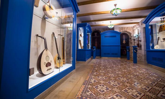 7 כרטיס למוזיאון המוזיקה העברי בנחלת שבעה
