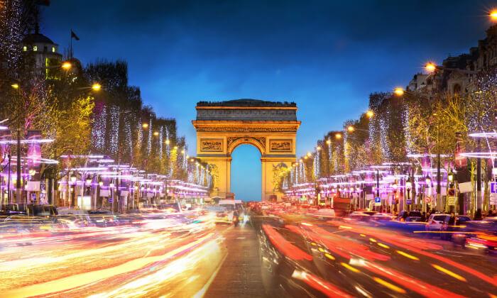 """3 חופשה בפריז, כולל סופ""""ש- גבינות, יין טוב והאורות של השאנז אליזה"""