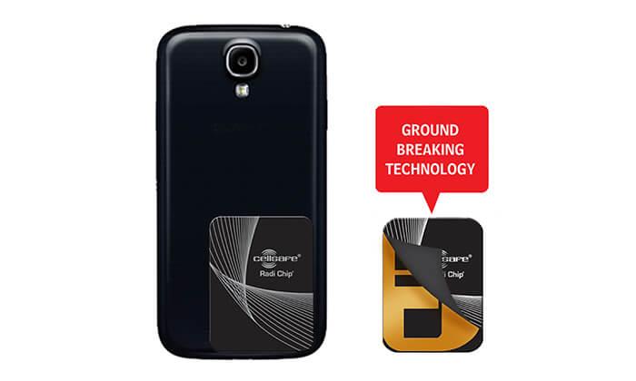 3 מערכת הגנה מפחיתת קרינה RADI-CHIP למכשירים סלולריים - משלוח חינם!