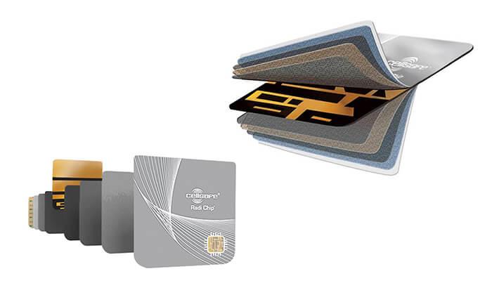 5 מערכת הגנה מפחיתת קרינה RADI-CHIP למכשירים סלולריים - משלוח חינם!