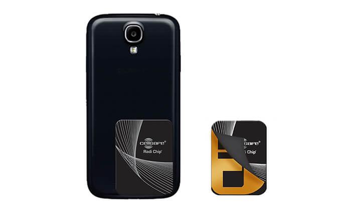 7 מערכת הגנה מפחיתת קרינה RADI-CHIP למכשירים סלולריים - משלוח חינם!
