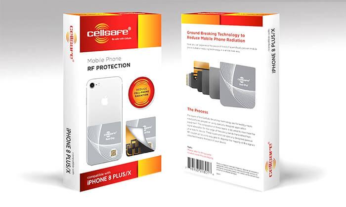 6 מערכת הגנה מפחיתת קרינה RADI-CHIP למכשירים סלולריים - משלוח חינם!