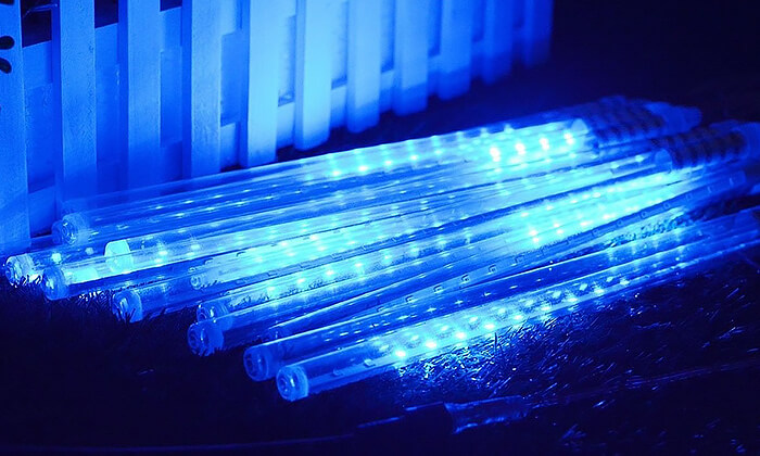 3 שרשרת תאורה סולארית מטאורים MiniMaxx