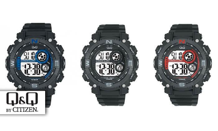 8 שעון יד דיגיטלי לגבר Q&Q - משלוח חינם!