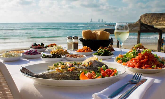 2 ארוחת דגים במסעדת בני הדייג, מרינה הרצליה