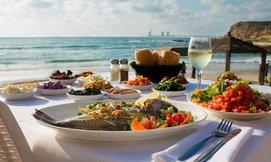 ארוחה זוגית בבני הדייג במרינה