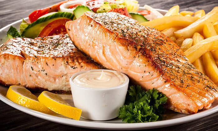 5 ארוחת דגים במסעדת בני הדייג, מרינה הרצליה