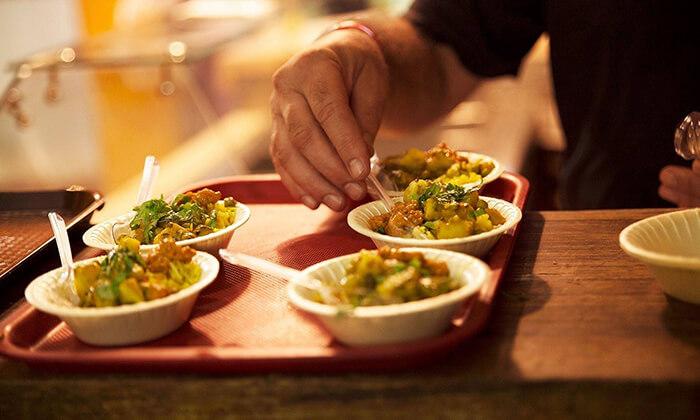 4 ארוחה הודית במסעדת באבאג'י - Babaji, פלורנטין