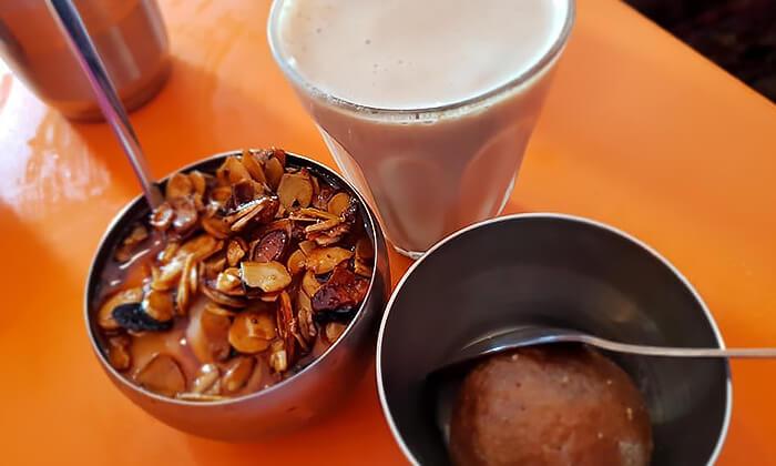 5 ארוחה הודית במסעדת באבאג'י - Babaji, פלורנטין
