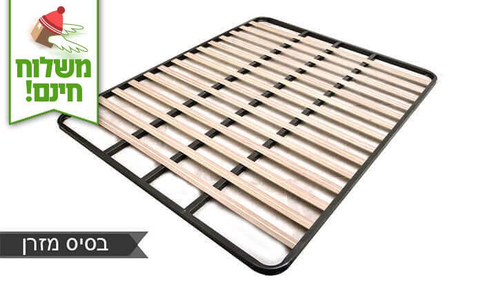 3 שמרת הזורע: מיטה זוגית עם זוג שידות לילה - הובלה חינם!
