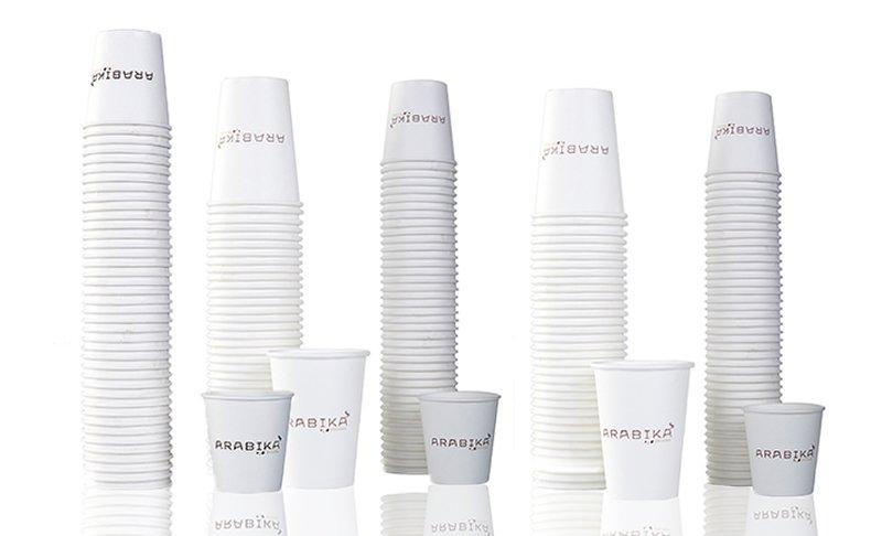 500 כוסות חד-פעמיות לשתייה חמה