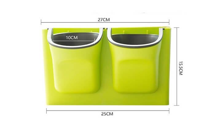 4 זוג אדניות קיר GREEN WALL של MiniMaxx
