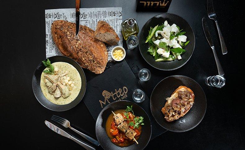 ארוחה איטלקית זוגית ב-Matteo