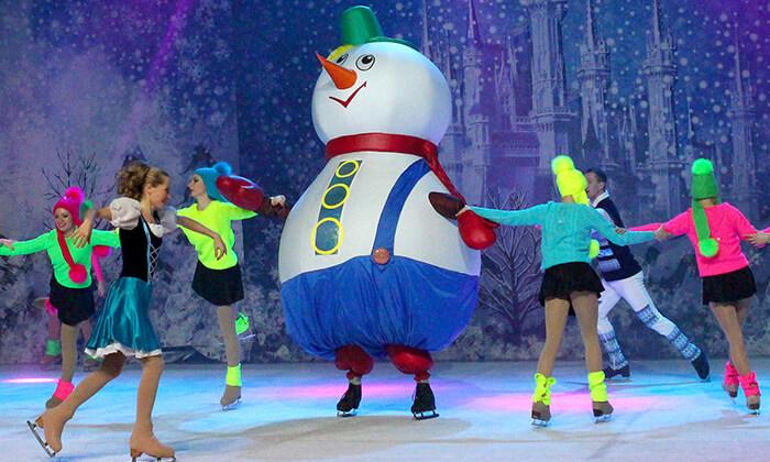 9 כרטיס למופע 'מלכת השלג' - קרקס על הקרח, מגוון מיקומים ומועדים