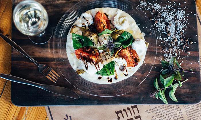 4 GROO PREMIUM: ארוחת פרימיום זוגית במסעדת חוות התבלינים בגלבוע