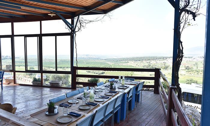 7 GROO PREMIUM: ארוחת פרימיום זוגית במסעדת חוות התבלינים בגלבוע