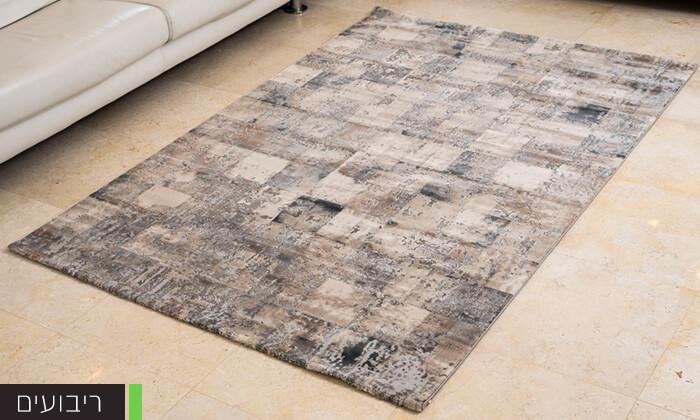 6 שטיח קטיפתי לסלון