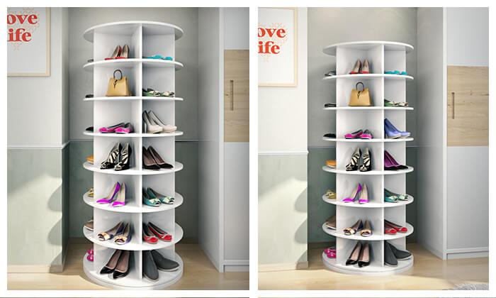 2 דיל לזמן מוגבל: ארון נעליים מסתובב