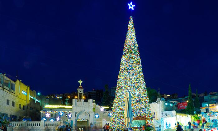 8 סיור חג המולד בנצרת