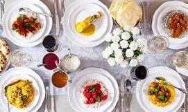 ארוחה הודית כשרה לזוג בקארילנה