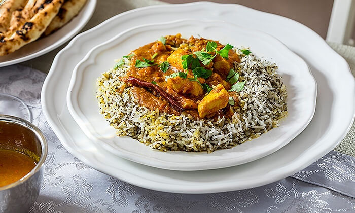 3 ארוחה הודית זוגית בקארילינה הכשרה, בני ברק