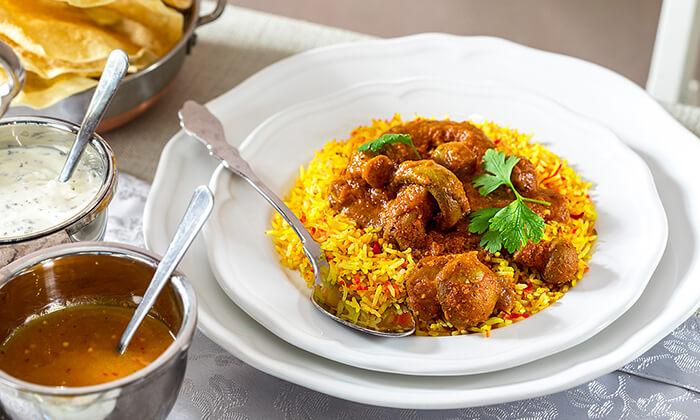 6 ארוחה הודית זוגית בקארילינה הכשרה, בני ברק