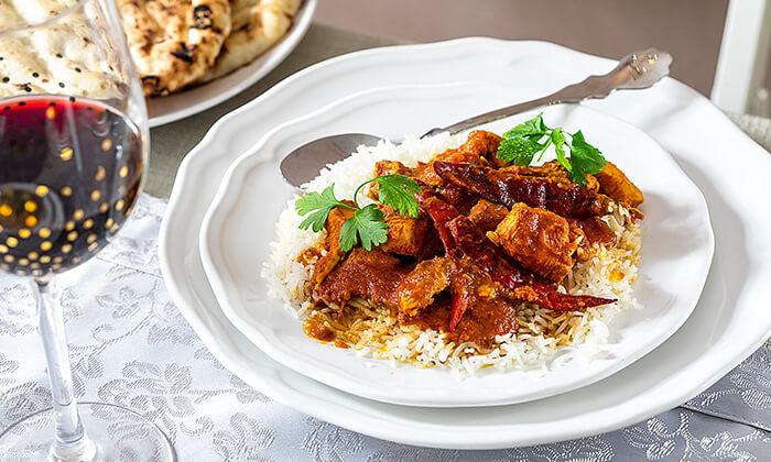 7 ארוחה הודית זוגית בקארילינה הכשרה, בני ברק
