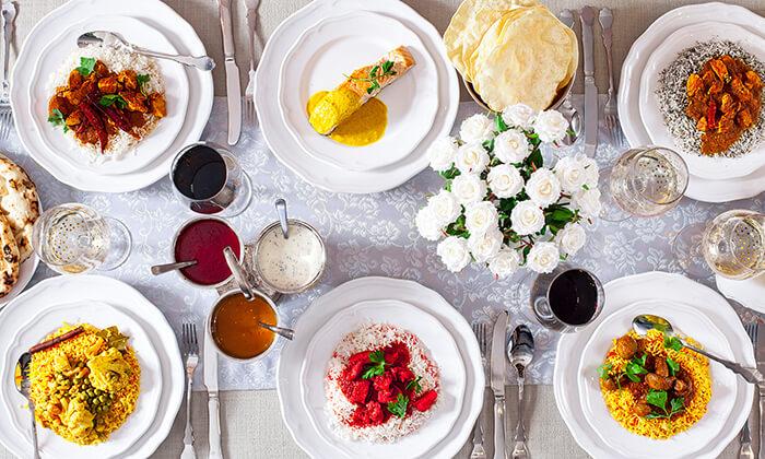 8 ארוחה הודית זוגית בקארילינה הכשרה, בני ברק