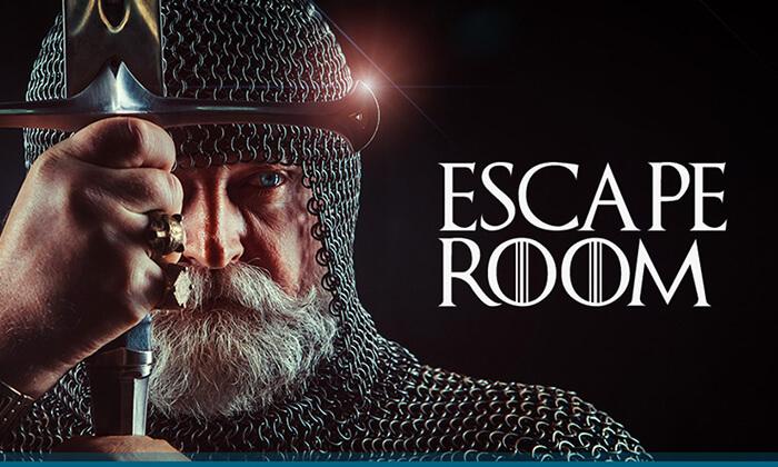 2 שובר למשחק ב-26 חדרי בריחה של רשת Escape Room בפריסה ארצית