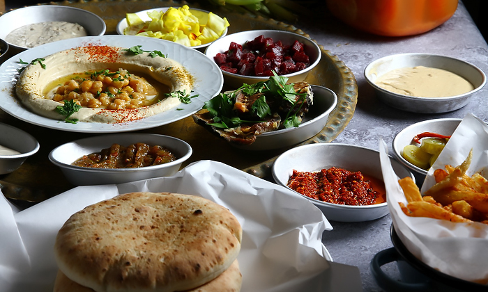 6 ארוחה זוגית במסעדת הלבנטיני, בן יהודה תל אביב