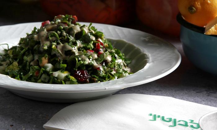8 ארוחה זוגית במסעדת הלבנטיני, בן יהודה תל אביב
