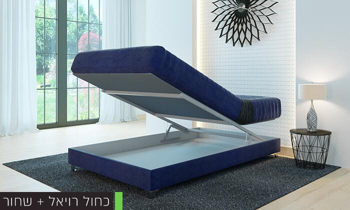 6 מיטה אורטופדית ברוחב וחציRAM DESIGN