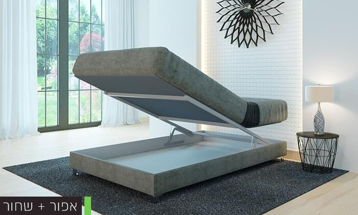 8 מיטה אורטופדית ברוחב וחציRAM DESIGN