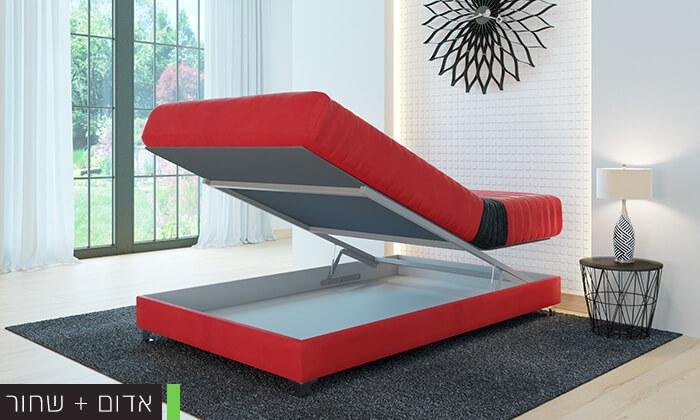 4 מיטה אורטופדית ברוחב וחציRAM DESIGN