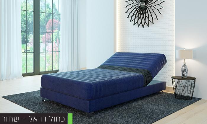 3 מיטה אורטופדית ברוחב וחציRAM DESIGN