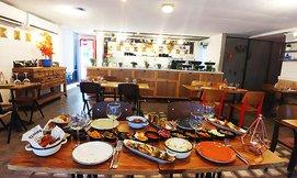 ארוחה זוגית ב'טרומפטה' הכשרה