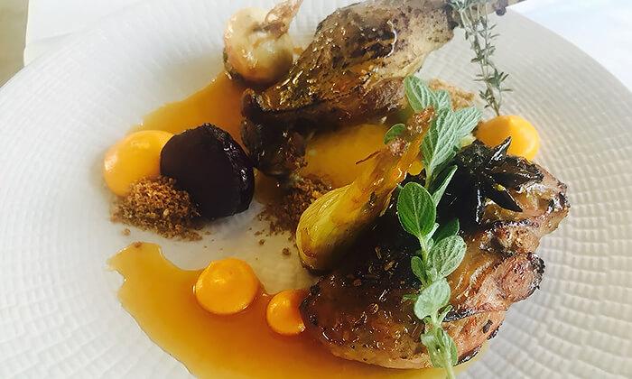6 ארוחה זוגית מרוקאית במסעדת טרומפטה הכשרה בקריית ביאליק