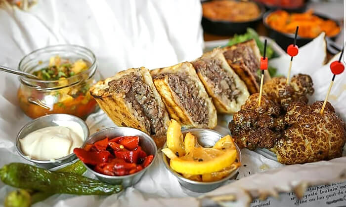 11 ארוחה זוגית מרוקאית במסעדת טרומפטה הכשרה בקריית ביאליק